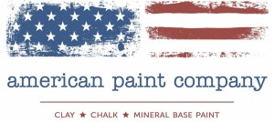 american paint company clay chalk and mineral base paint logo