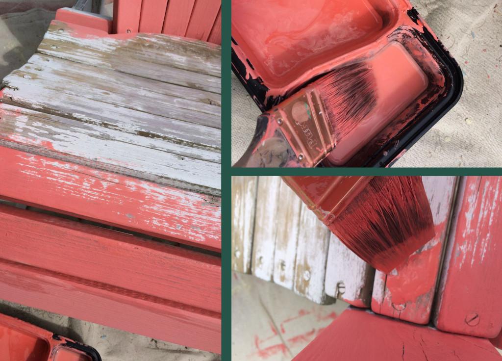 Open grain wood tip