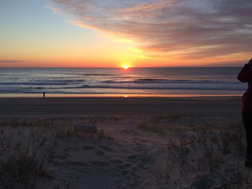 Sunrise on Friday