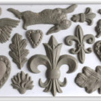 Fleur-de-lis Decor Mould