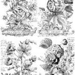 Classic Bouquets Paintable™ Decor Transfer™