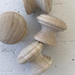 IOD Wooden Knobs 1.5″