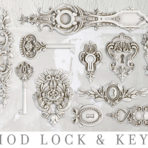Lock & Key Mould